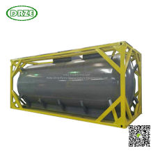 Un1790 Isotank Container for Road Tank Transport Hydrofluoric Acid (HF) Un1791 Sodium Hypochlorite, Liquid Naclo 18, 000liers -20, 000liers