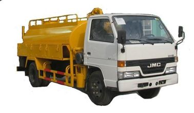 China JMC 5000L Septic Vacuum Trucks Sewage Disposal Truck Heavy Duty RHD / LHD supplier