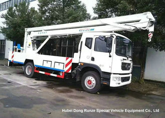 China DFAC D9 20m Aerial Platform Truck EURO 5 , Ruck Mounted Hydraulic Platform supplier