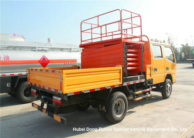 China Dongfeng 8-10M Man Lift Boom Truck For High Operation LHD / RHD EURO 3 supplier