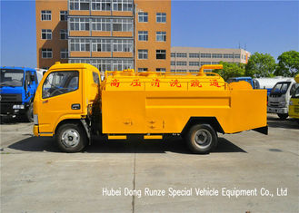 China DFAC Septic Tank Truck For Suction And Jetting Sewer With Hydrojet supplier