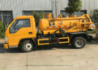 Foland 2000L Septic Vacuum Trucks For Sewage Suction In Municipal Sanitation