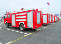 China Emergency Rescue Fire Fighting Truck With Fire Pump 4000Liters Water Tank factory