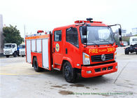 China Emergency Fire Fighting Truck With Cummins EQB125 Diesel Engine 4000Liters Water factory