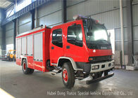 China ISUZU FVR EURO5 Water Foam Fire Fighting Vehicles For Fireman Department factory