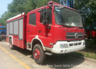 China Offroad 4X4 Rescue Fire Truck With 3000 Liters Water Tank 1500 Liters Foam factory