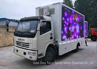 China Outdoor DFAC Mobile LED Billboard Truck For Promotion Advertising , Road Show factory