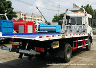 China Tilt Tray Flatbed Wrecker Tow Truck , Road Vehicle Recovery Truck 2700Kg Lifting factory
