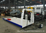 China Custom Steel Flatbed Truck Bodies , Car Carrier Wrecker Upper Body factory