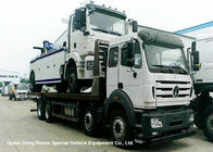 North Benz Heavy Duty Flatbed Wrecker Tow Truck With Hydraulic Winch 25m