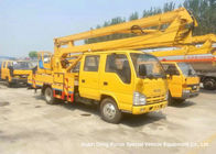 ISUZU 16m Truck Mounted Articulated Aerial Work Platforms High Performance