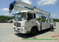 King Run 22m Truck Mounted Bucket Lift Aerial Work Platform LHD / RHD EURO 3