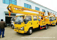 ISUZU 4x2 14-16M Aerial Platform Truck LHD EURO5 , Vehicle Mounted Work Platforms