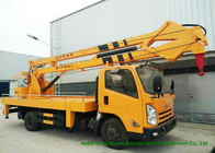 JMC Knuckle Boom Truck Mounted Aerial Work Platform , 18 Meter Bucket Lift Truck