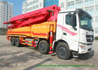 China Beiben V3 35m -51m Mini Concrete Pump Truck , Truck Mounted Concrete Pump factory