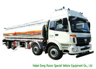 China  FOTON Petroleum Oil / Gasoline Delivery Truck , Crude Oil Tanker Truck 32000L factory