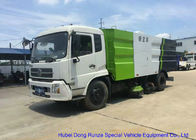 Kingrun Vacuum Road Sweeper Truck For Dust Suction , Street Sweeper Vacuum Truck