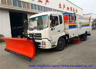 China Multifunction Street Washing Truck With Hydraulic Scissor Manlift / Shovel Brushes factory