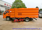 China FORLAND Vacuum Broom Road Sweeper Truck / Small Mobile Street Sweeper factory