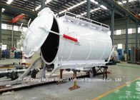China Customized Cabon Steel Vaccum Tank Body For Vaccum Sewage Truck 4 - 20 M3 company