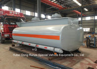 Hydrochloric Acid Tank Body For Lorry Trucks Steel Lined PE 16mm -18mm  8CBM- 25CBM