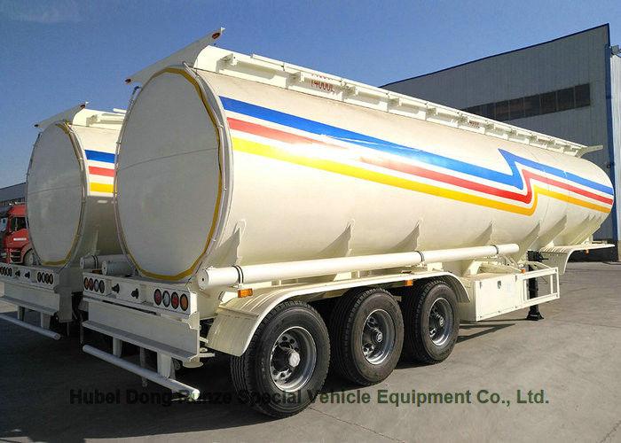 China 40cbm Aluminum Alloy Tanker Semi Trailer for