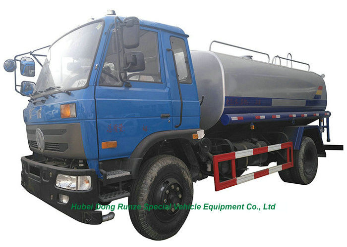 10 Ton Stainless Steel Clean Drinking Water Tank Truck With Water
