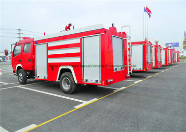 China Emergency Rescue Fire Fighting Truck With Fire Pump 4000Liters Water Tank distributor
