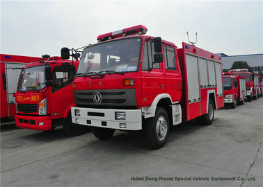 China Rescue Fire Truck With Fire Engine 5500Liters Water , Fire Brigade Vehicle distributor
