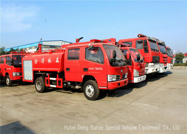 China Water Tanker Fire Fighting Truck For Fire Service With Water Pump And Fire Pump distributor