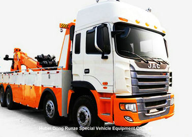 China JAC Integrated Recovery Tow Truck , Car Recovery Truck Boom Max Lifting 20 Ton distributor