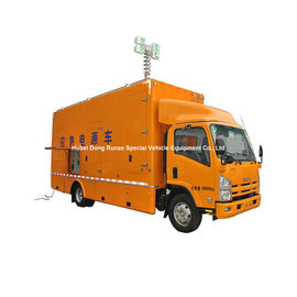 China  ISUZU Mobile Generator Truck For Emergency Power Supply 200kw 50hz 3 Phase 220V Unit distributor