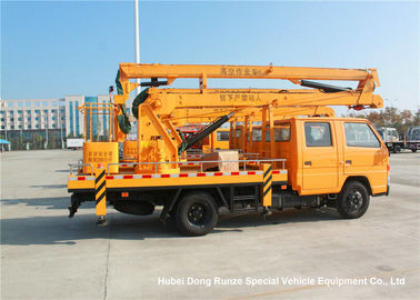 China JMC 14-16m 4x2 Double Cabin Aerial Platform Truck For High Operation Working factory