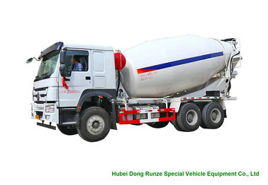 China Howo Concrete Mixer Truck For Cement Transportation 10cbm Right Hand Drive distributor