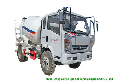 China HOMAN 4x2 Mobile Concrete Mixer Truck For Transport With 4m3 Load Capacity factory