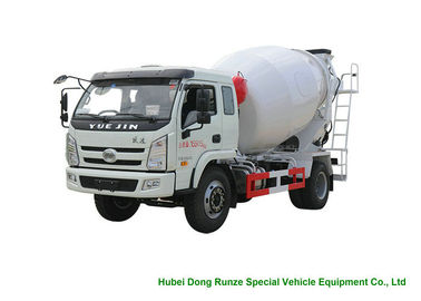 China YUEJIN 5m3 Small Concrete Mixer Truck With Pump , 4x2 Mobile Mixer Truck factory
