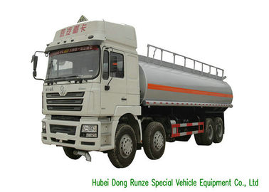 China SHACMAN 10 Wheeler Heavy Oil Tanker Truck , Gasoline Delivery Truck 30000 Liters factory