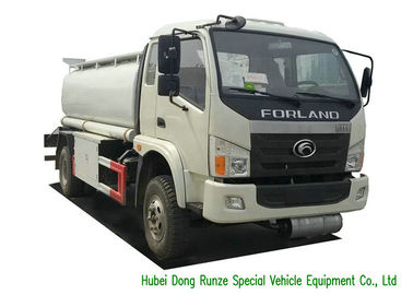 China Forland Transport Liquid Tank Truck / Mobile Refueling Truck 3000L-4000L distributor