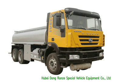 China IVECO 21000 Liters Fuel Delivery Trucks , Petrol Tank Truck With Diesel Engine distributor