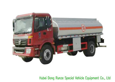 China FOTON 4X2 Fuel Delivery Tankers With PTO Pump 12000L High Capacity distributor