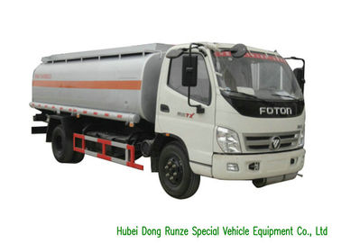 China FOTON 7000L Fuel Oil Tanker Truck For Petroleum Oil / Gasoline / Petrol Transport factory