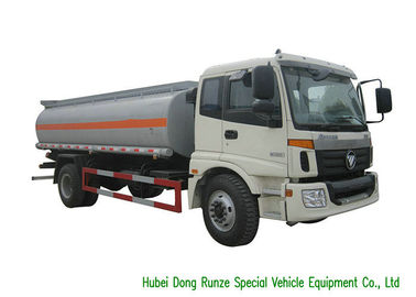 China FOTON AUMAN Fuel Delivery Truck With Stainless Steel Tank PTO Fuel Pump 12CBM factory