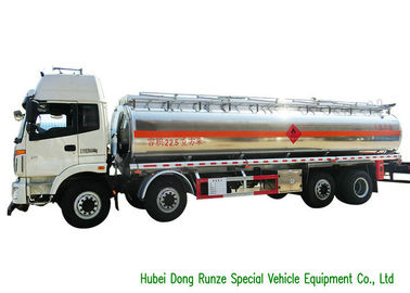China FOTON 8x2 Aluminium Alloy Fuel Oil Delivery Truck For Diesel Transportation 28CBM distributor
