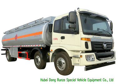 China FOTON 6x2 AUMAN 25000L Oil Tanker Truck With Stainless Steel Fule Tank factory