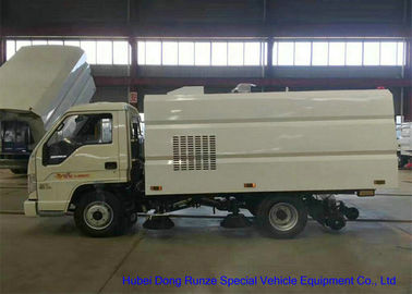 China FORLAND Small Vaccum Road Sweeping Truck 1 - 2 Cbm Trash LHD / RHD / 4x2 / 4 X 4 factory