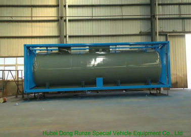 China 30FT T14  ISO Tank Container For Chemical , International Tank Containers distributor