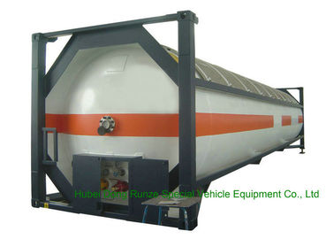 China T50 Type 40FT DME LPG ISO Container , LPG Tank Container For Shipping factory
