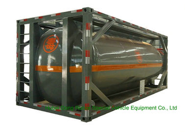 China 316 Stainless Steel ISO Tank Container 20 FT For Hazardous Liquids Road transport distributor