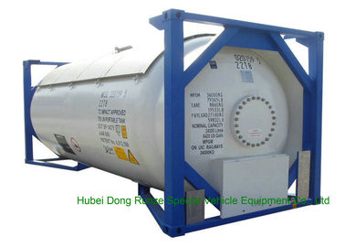 China UN Portable T50 Type ISO 20ft Tank Container For LPG / DME Transportation distributor