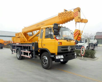 China DFAC Mobile Hydraulic Vehicle Mounted Crane With 16 - 20 Ton Lifting Capacity distributor